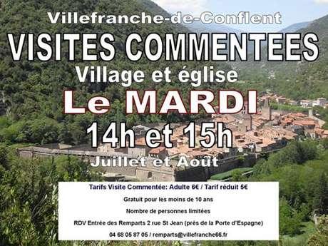 VISITE GUIDÉE DE VILLEFRANCHE-DE-CONFLENT