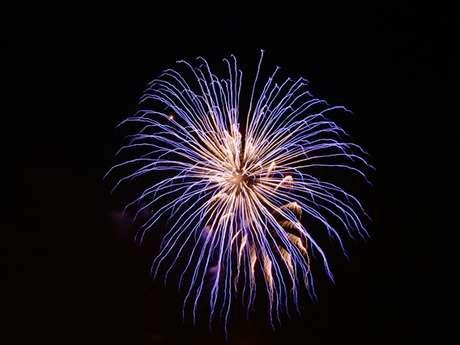 Fête nationale - Retraite aux flambeaux et feu d'artifice