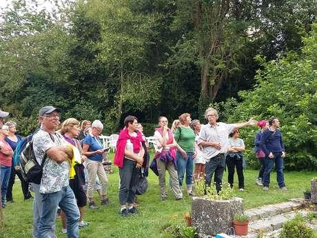 Visite de l'Abbaye de Saint-Victor-l'Abbaye et découverte des plantes sauvages comestibles