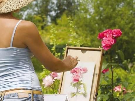Les peintres au jardin