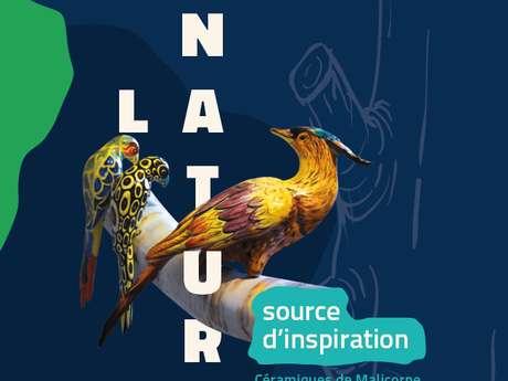 """EXPOSITION TEMPORAIRE """"LA NATURE, SOURCE D'INSPIRATION - CÉRAMIQUES DE MALICORNE"""""""