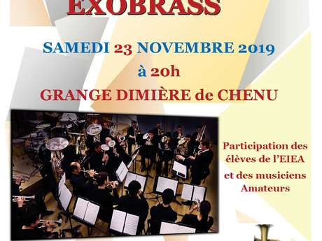 CONCERT DE L'ENSEMBLE EXOBRASS