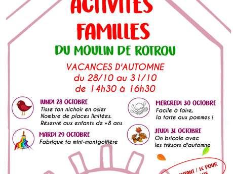 ACTIVITÉS D'AUTOMNE EN FAMILLE