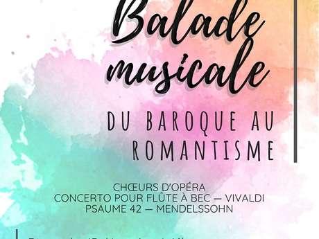 BALADE MUSICALE DU BAROQUE AU ROMANSTISME