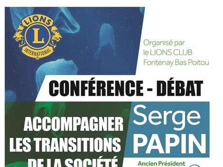 """CONFÉRENCE-DÉBAT """"ACCOMPAGNER LES TRANSITIONS DE LA SOCIÉTÉ"""""""