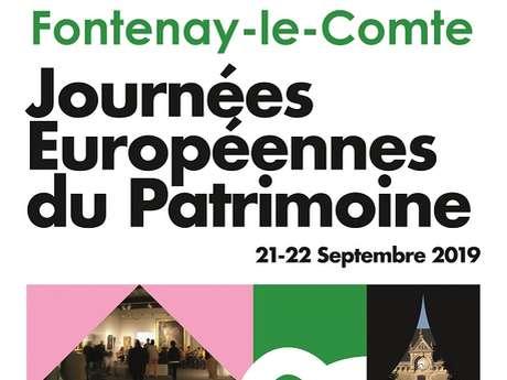 JOURNÉES EUROPÉENNES DU PATRIMOINE - FONTENAY-LE-COMTE