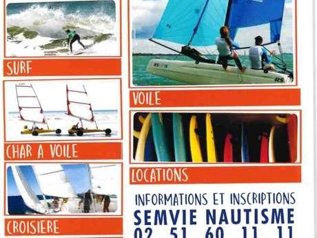 SEMVIE NAUTISME -ECOLE DE CROISIERE