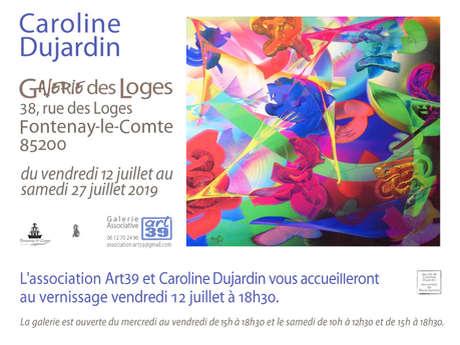 "EXPOSITION ""CAROLINE DUJARDIN"""