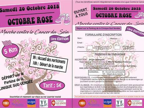 MARCHE CONTRE LE CANCER DU SEIN