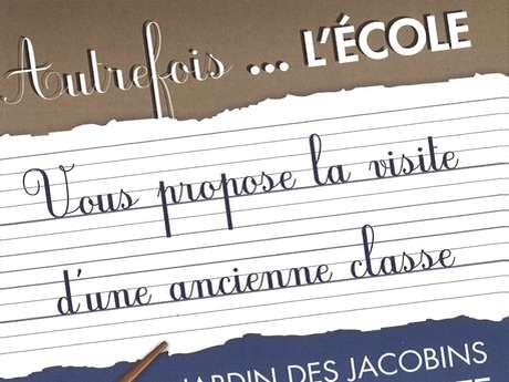 """NUIT EUROPÉENNE DES MUSÉES """"VISITER LA CLASSE D'AUTREFOIS"""""""