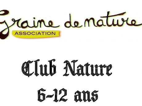 CLUB NATURE « CABANES DANS LES BOIS »