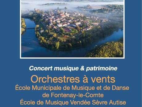 """CONCERT MUSIQUE & PATRIMOINE """"ORCHESTRES À VENTS"""""""