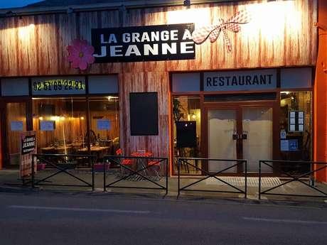 "RESTAURANT ""LA GRANGE À JEANNE"""
