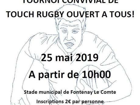 TOURNOI CONVIVIAL DE TOUCH RUGBY