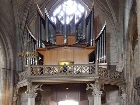 DÉCOUVERTE DE L'ORGUE « MARIE REINE DU CIEL » AVEC CHAMADE