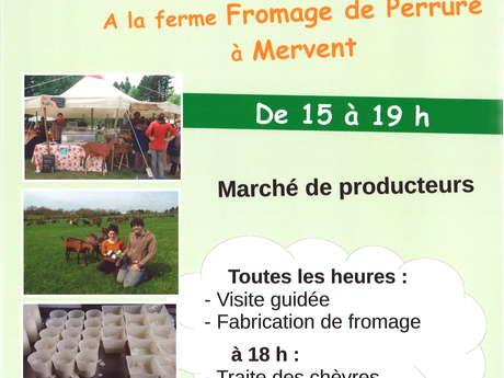 MARCHÉ DE PRODUCTEURS - FERME DE LA GRANDE PERRURE