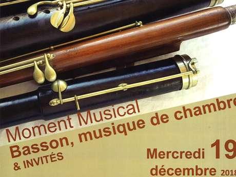 MOMENT MUSICAL ''BASSON, MUSIQUE DE CHAMBRE & INVITÉS'' EMMD