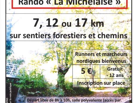 """17E RANDONNÉE PÉDESTRE """"LA MICHELAISE"""""""