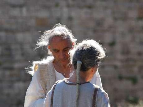 Démonstration de filature et conférence sur le Catharisme au Château de Lordat