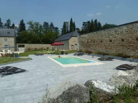 Chambres d'hôtes entre Meuse et collines avec piscine, en bord de Meuse