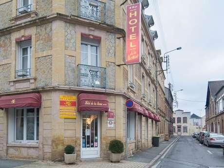 """Hôtel """"Hôtel de la Meuse"""""""