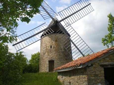 Visite et mise au vent du moulin de Saillagol 28 juin 2020