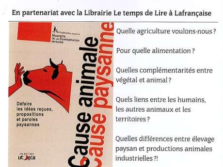 """Cause animale, cause paysanne"""