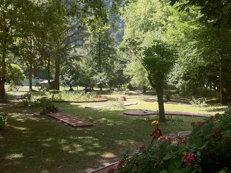 Mini-golf - Ornolac-Ussat les Bains