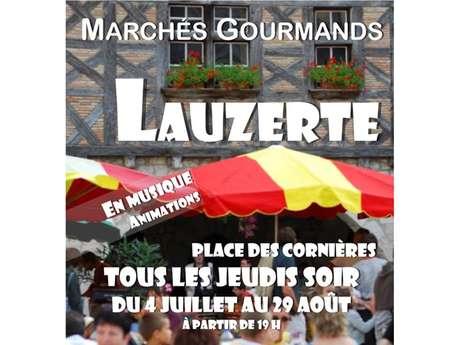 Marché Gourmand Nocturne de Lauzerte