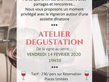Atelier dégustation au Château de Belaygues