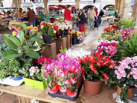 Les marchés de Valence d'Agen