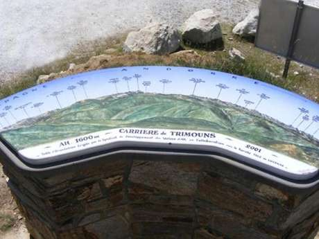 Table d'Orientation de Trimouns