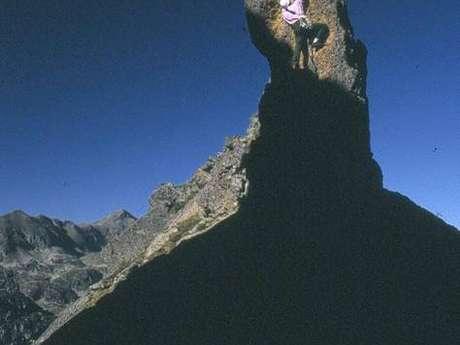 Escalade en Pyrénées Ariégeoises