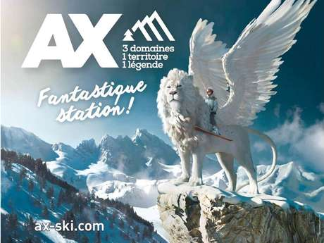 Ski Resort of Ax 3 Domaines