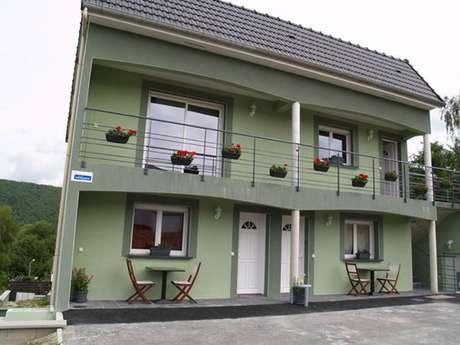 Les Mésanges, appartement tout confort proche Meuse, Voie Verte, Belgique