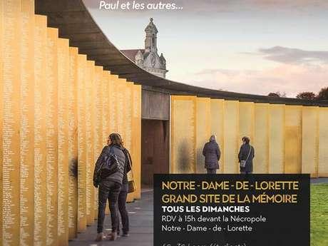 """Visite guidée - """"Notre-Dame-de-Lorette, grand site de la mémoire"""""""