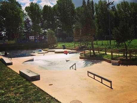 Le skate-park - Stade-Parc