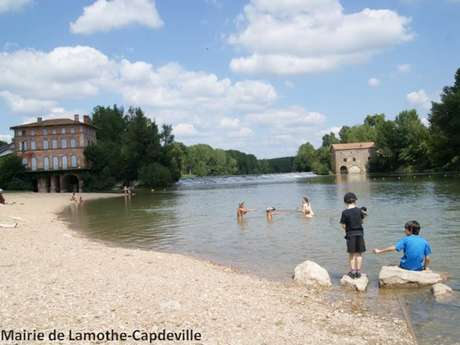 Lamothe - Capdeville city