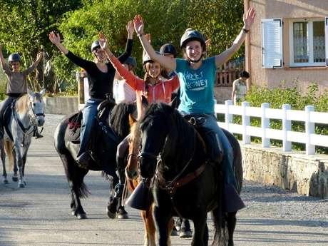 Les Crinières Noires - Equitation