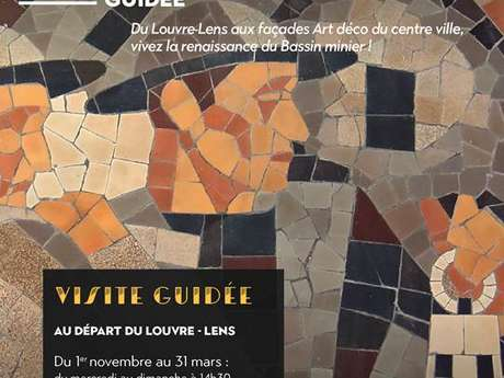 Visite guidée Lens, mine d'Art déco