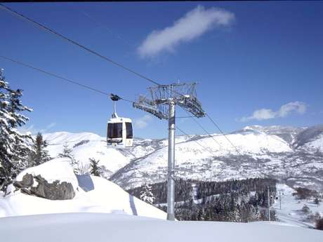 Góndolas Ax -les - Thermes / estación de esqui Ax 3 Domaines