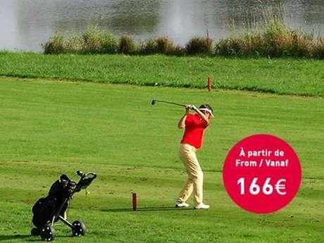 Golf en duo dans les Ardennes