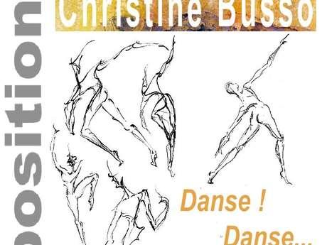 """Exposition """"Danse et dessins"""""""