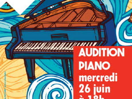 Audition piano