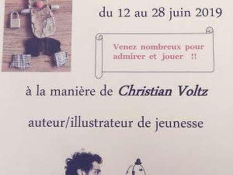 """Exposition """"A la manière de Christian Voltz"""""""