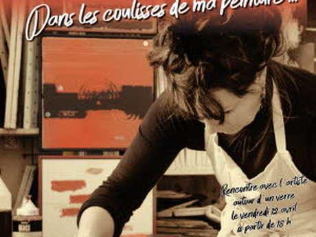 """Exposition Caroline Varlot """"Dans les coulisses de ma peinture..."""""""