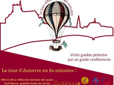 Le tour d'Auxerre en 80 minutes