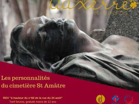 Les personnalités du cimetière Saint-Amâtre