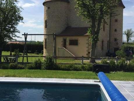 Location Gîtes de France - GOUZON - 15 personnes - Réf : 23G1384