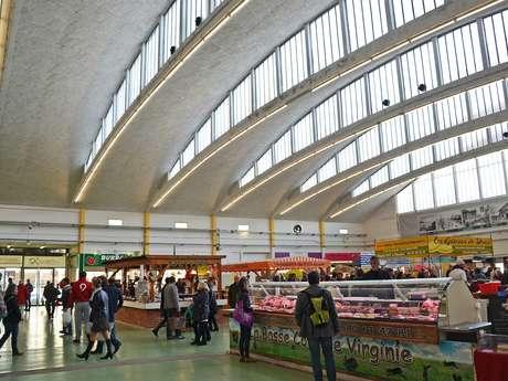 Visite guidée : les halles de Saint-Nazaire, plus qu'un marché